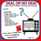 Deal or No Deal: Hands-on Math Problem Solving Cards