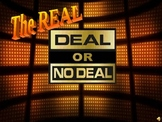 Deal or No Deal PowerPoint Game Show Template
