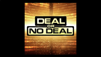Deal or No Deal Review Game Template