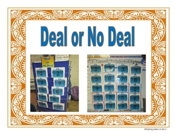 Deal or No Deal Review Game for all Subjects