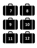 Deal or No Deal Suitcases