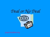 Deal or No Deal Test Practice