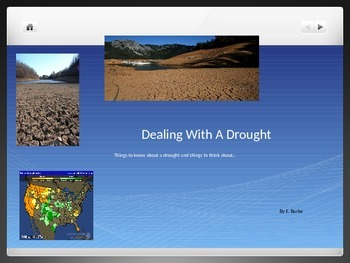 Dealing With A Drought