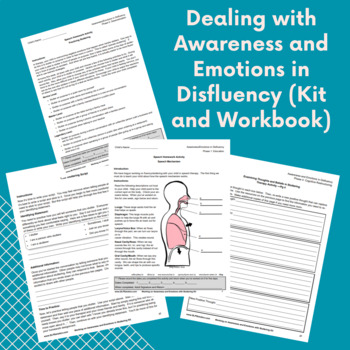 Dealing With Awareness and Emotions in Disfluency - No Prep Kit