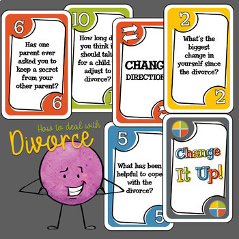How to Deal With Divorce Card Game
