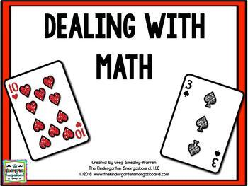 Dealing With Math!  A Common Core Math Creation!