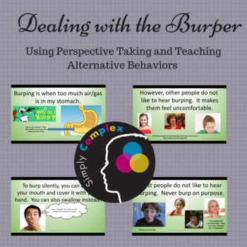 Dealing with Burping; Reducing Negative Behavior