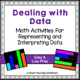 Low Prep Graph Math Centers- Dealing with Data