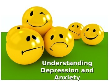 Dealing with Depression and Anger.  Helping others.  A Lesson for your Students.