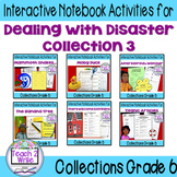 HMH Collections Grade 6 Collection 3 Dealing with Disaster Bundle Activities