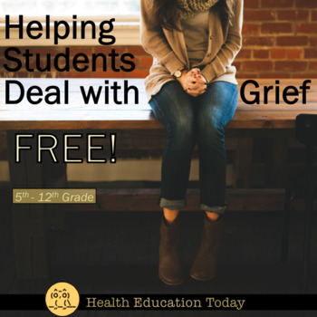 Grief Activity FREE :  Helping Students Cope with Grief and Tragedy