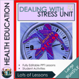 Dealing with Stress -  Health & Wellbeing Bundle of Lessons