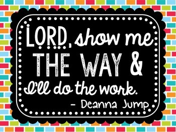 Deanna Jump Inspirational Quote Free!