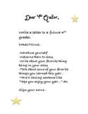 Dear 4th Grader