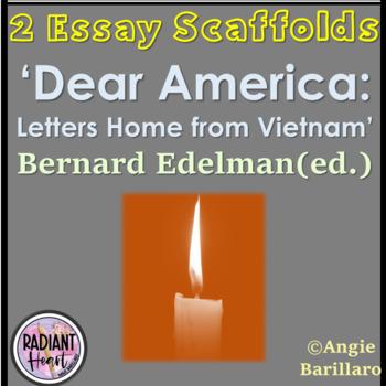 Dear America Two Essay Scaffolds