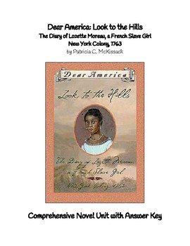 Dear American: Look to the Hills, The Diary of Lozette Moreau