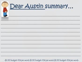 Dear Austin {tic-tac-toe}