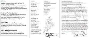 Dear Basketball: Kobe Bryant vs Michael Jordan Retirement Letters