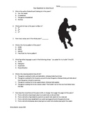 Dear Basketball Poem Questions (Poem Included) by Kobe Bryant