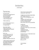 Dear Basketball, by Kobe Bryant poem analysis