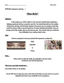 """Bullying Reflection """"Dear Bully"""" Letter - Strain extension activity"""