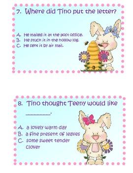 Dear Bunny literacy activities