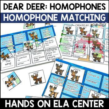 Homophones Center: Dear Deer