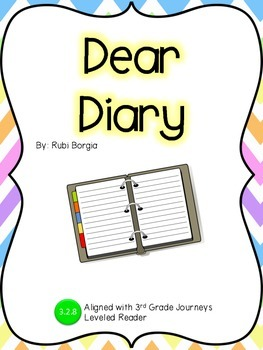 Dear Diary Guided Notes: Journeys 3rd Grade