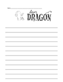 Dear Dragon Writing Paper