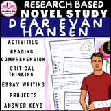 Dear Evan Hansen by Steven Levenson Novel Study