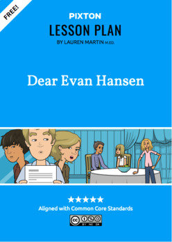 Dear Evan Hanson Activities: Character Map, Major Themes, Major Events
