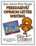 Dear Farmer Mac Nugget: Persuasive/Opinion Letter Writing - Thanksgiving - ELL