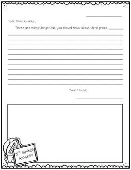 Dear Future 3rd Grader