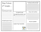Dear Future 4th Grader Brochure