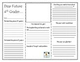 Dear Future 4th Grader Brochure