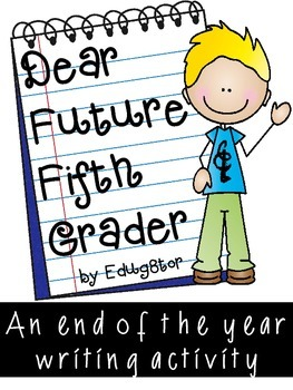 Dear Future 5th Grader