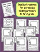 """Dear Future First Grader""- Welcome Booklet for Kindergarteners from 1st Graders"