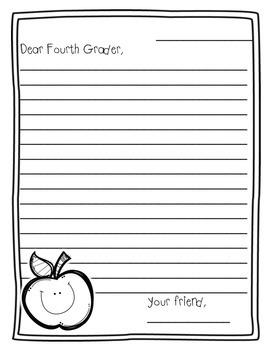 Dear Future Fourth Grader,