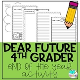 Dear Future Fourth Grader End of the Year Letter Writing Activity