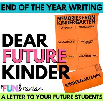 Dear Future Kindergartner,