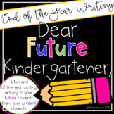 Dear Future Kindergartner,