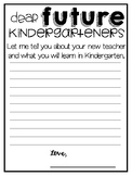 Dear Future Kindergartner Letter
