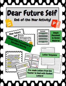 Dear Future Self, End-of-the-Year Activity