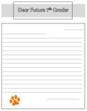 Dear Future Student Letter Template