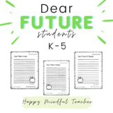 Dear Future Students