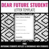 Dear Future Student Letters [FREE]