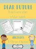 Dear Future - Students Write Letters to Future Students