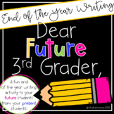 Dear Future Third Grader,