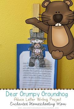 Dear Grumpy Groundhog Advice Letter Writing Project