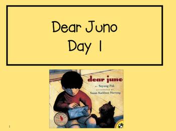 Dear Juno 2nd Grade Reading Street Powerpoints